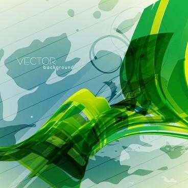 green textured background 04 vector