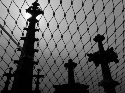 grid towers graves