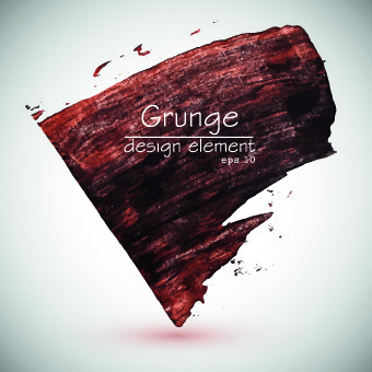 grunge design elements watercolor background vector