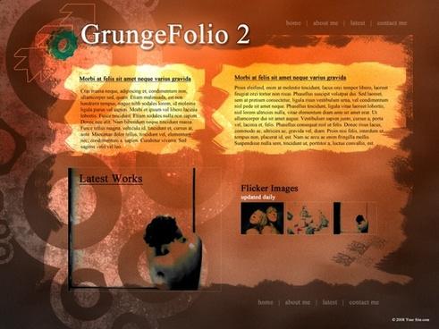 Grunge Folio 2