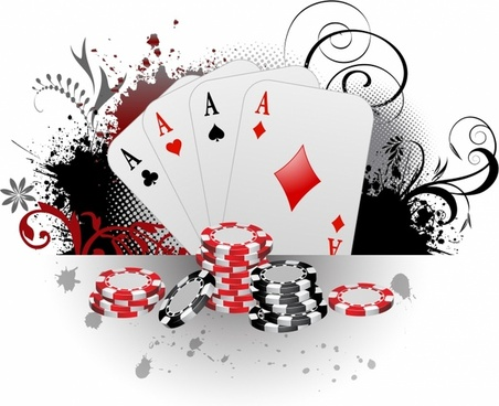 Play of one hand of simpliied poker in the case when an ace is.
