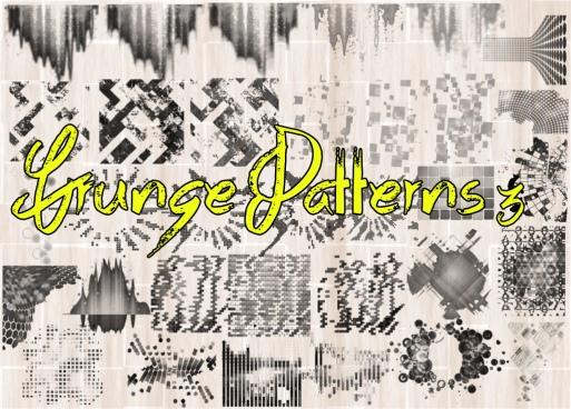 grunge patterns 3