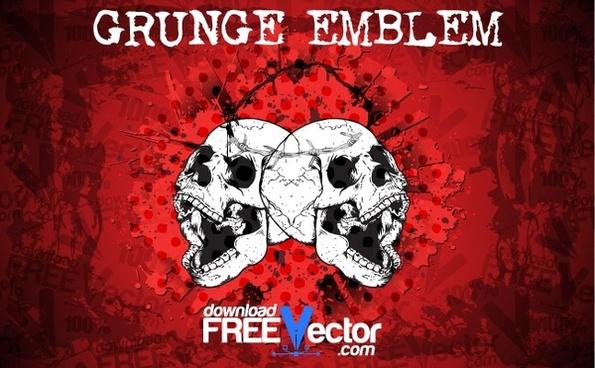 Grunge Vector Emblem