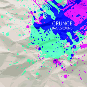 grunge watercolor background vector design