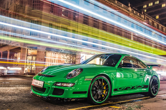 gt3 rs green