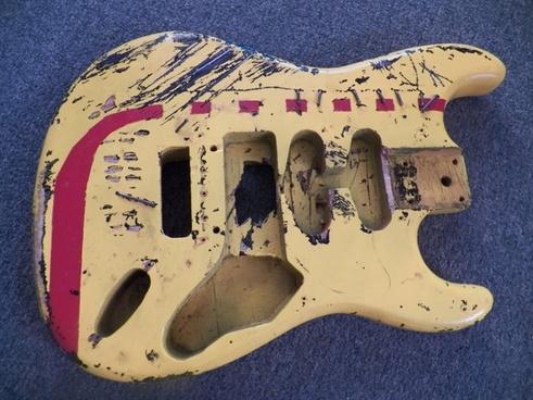 guitar body 2