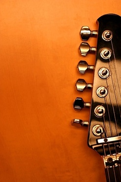 guitar closeup picture