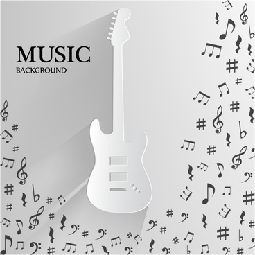 guitar vector background