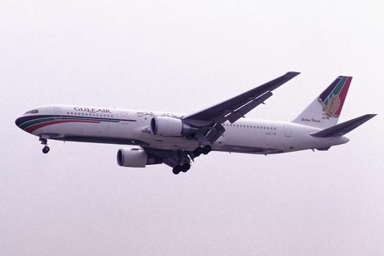 gulf air boeing 767 3p6 a4o gg24424349