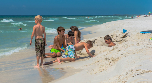 gulf coast summer vacation