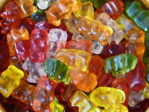 gummi bears fruit gums bear