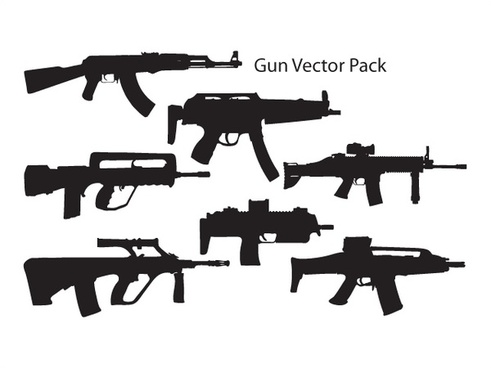 Gun Vector Pack