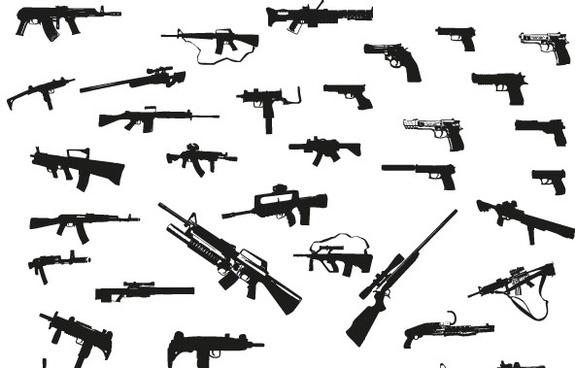 Guns free vector pack