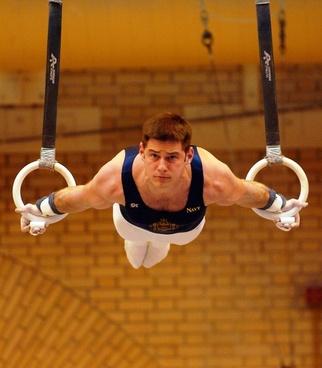 gymnast gymnastics man