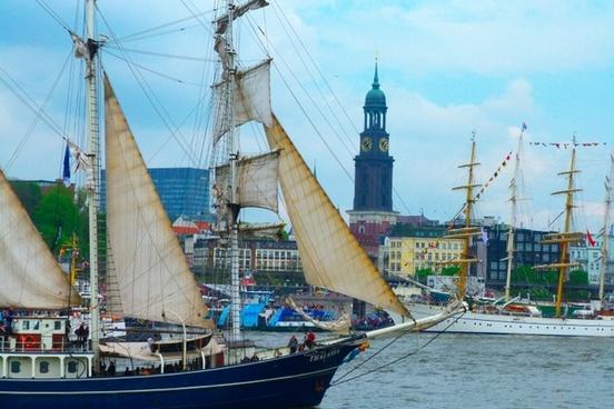 hafengeburtstag hamburg sailing vessel