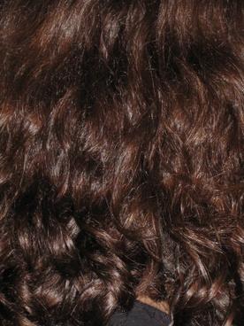 hair dark brunette