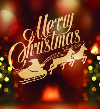 halation14 merry christmas backgrounds vector