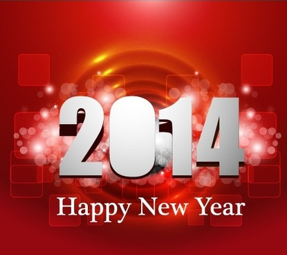halation14 new year background vectors