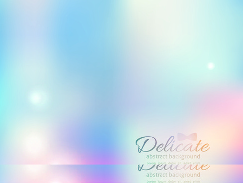 halation colored blurred background vector