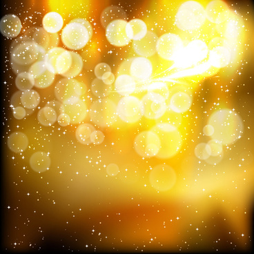 halation golden art background vector