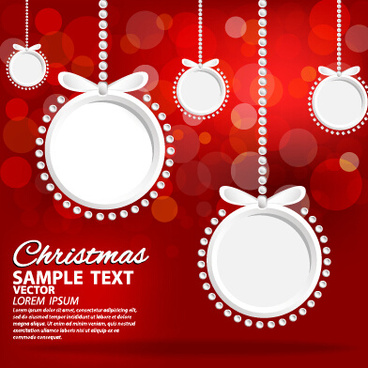 halation red15 christmas background art