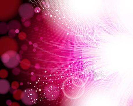 halation with light lines vector background