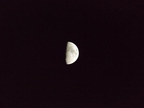 half moon moon