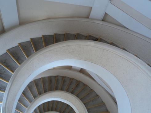 half round stairs