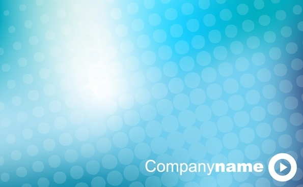 business presentation cover background sparkling blue design