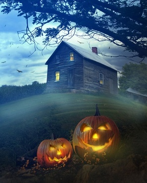 halloween background 03 hd picture