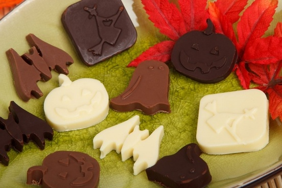 halloween candy shapes
