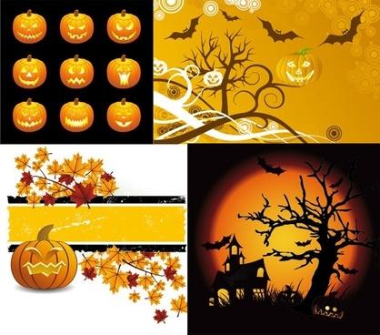 halloween clip art illustrations