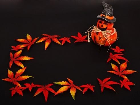 halloween decoration frame