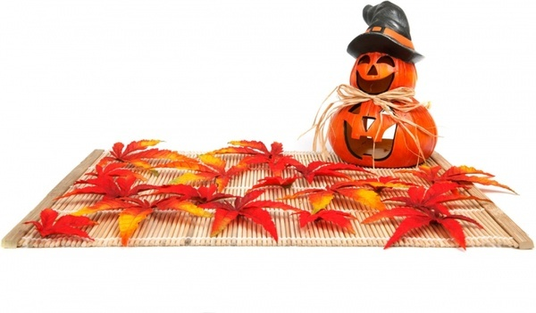 halloween decoration isolated