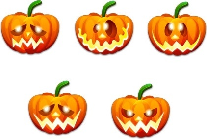 Halloween Emoticons icons icons pack