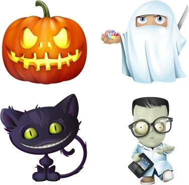 Halloween Icon Set icons pack