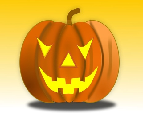 Halloween Pumpkin Icon 64x64