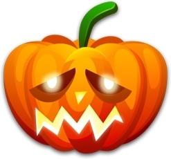Halloween sad