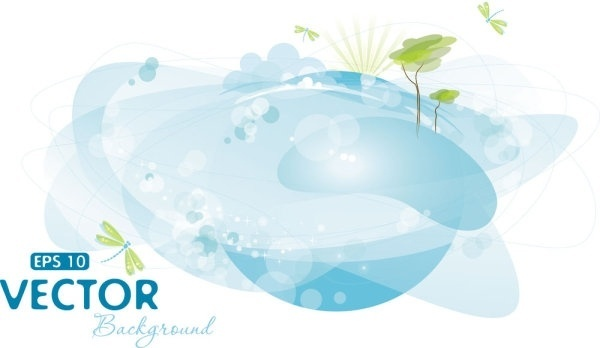 halo bubbles vector