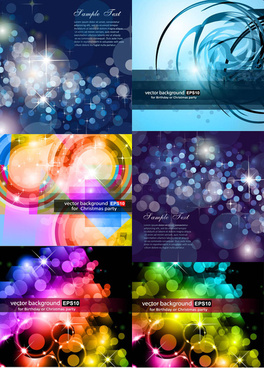 halo star background vector graphics