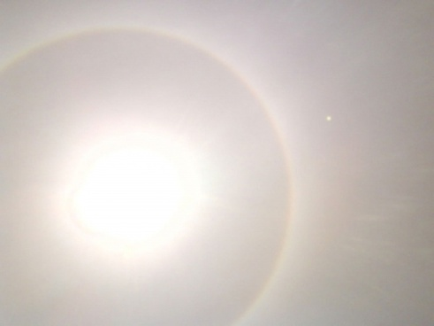 halo sun light