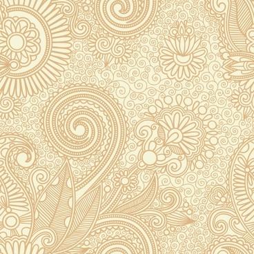 ham pattern background 03 vector