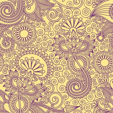 ham pattern background 04 vector