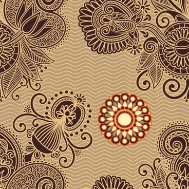 ham pattern background 05 vector