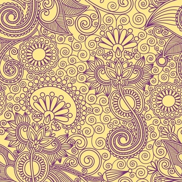 ham pattern pattern background vector