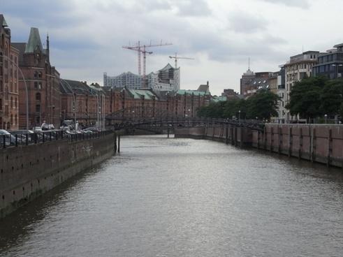 hamburg innenalster harbour