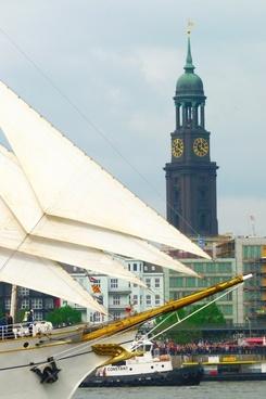 hamburg sailing vessel sail