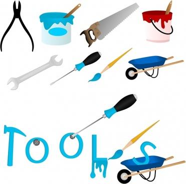 hammer screwdriver vector