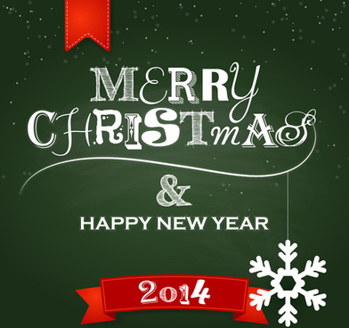 hand drawn14 christmas new year background vector