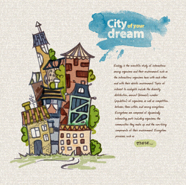 Dream city free vector download (2,177 Free vector) for commercial
